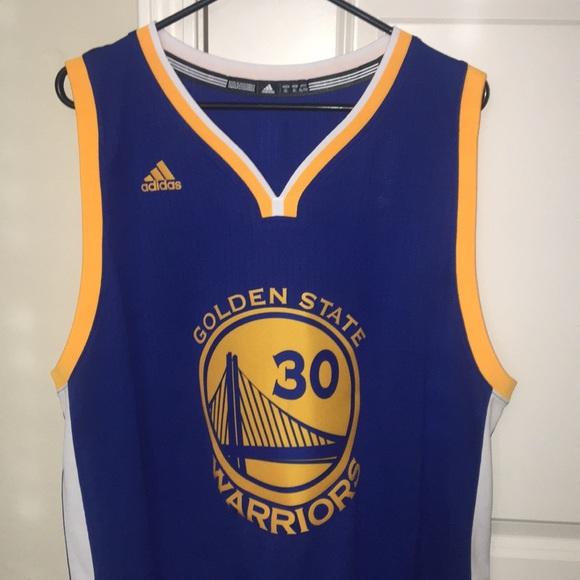 cad60744 adidas Other | Golden State Warriors Stephen Curry Jersey Xl | Poshmark